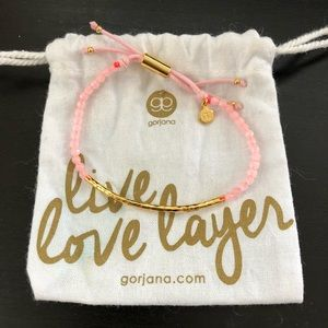 Gorjana Power Gemstone Rose Quartz Bracelet